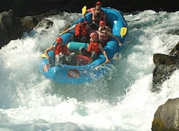 White Water River Rafting Trip