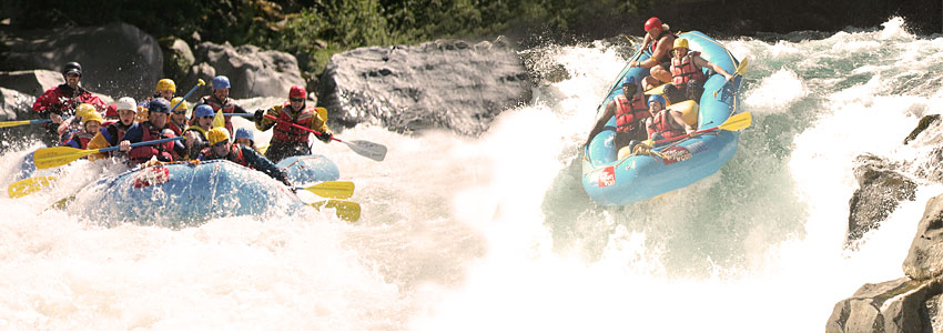 River Rafting adventure at River Rider